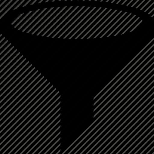 filter, filtering, sort, sorting, utilities icon