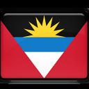 barbuda, and, antigua icon
