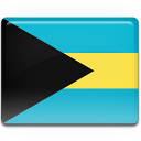 bahamas, flag icon