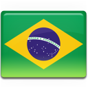 brazil chest flag icon