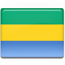 flag, gabon icon