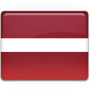 flag, latvia icon