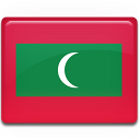flag, maldives icon