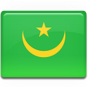 flag, mauritania icon