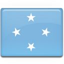 flag, micronesia icon