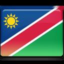 namibia, flag icon