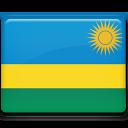 flag, rwanda icon