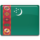 flag, turkmenistan icon