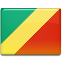 congo, flag icon