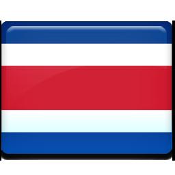 costa, flag, rica icon