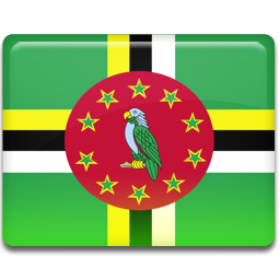 dominica, flag icon