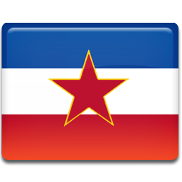 ex, flag, yugoslavia icon