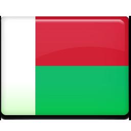 flag, madagascar icon