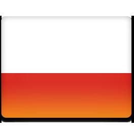 flag, pl, poland, polska icon