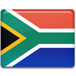 africa, flag, south icon