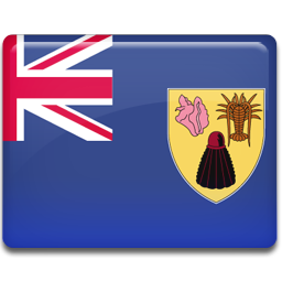 and, caicos, islands, turks icon