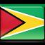 flag, guyana icon