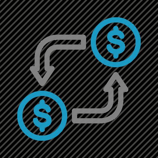 Finance, money, money changer, business icon - Download on Iconfinder