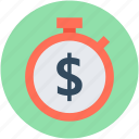 chronometer, finance chronometer, timekeeper, timepiece, timer icon