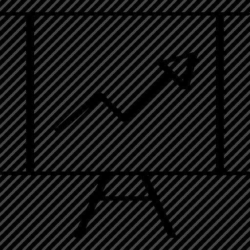 arrow, finance, up icon