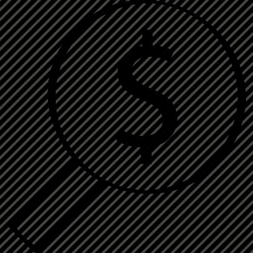 business, finance, money icon