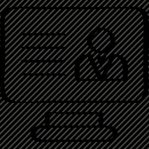 business, finance, website icon