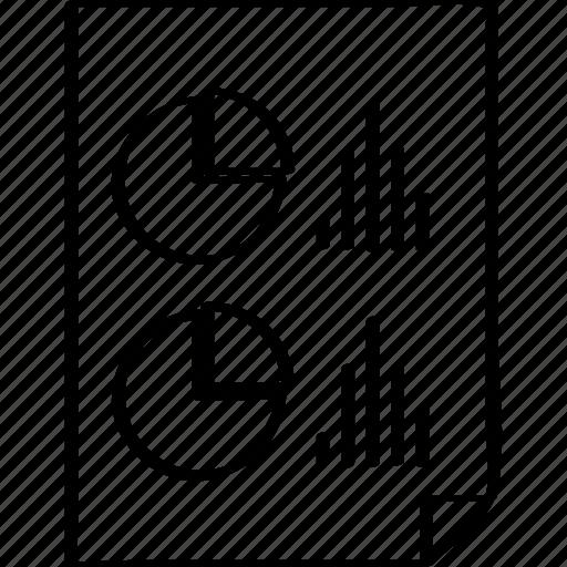 analytics, document, seo icon