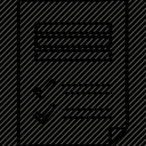 data, file, page, report icon