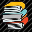 books, business, finance icon