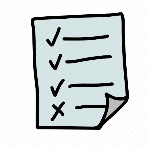 business, checklist, finance icon