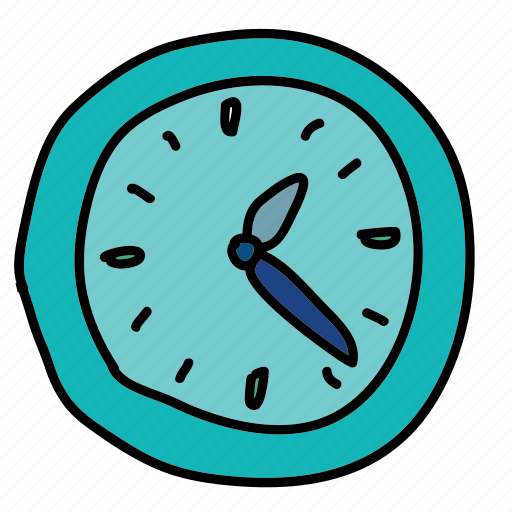 business, clock, finance, office, time icon