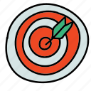 bullseye, business, dart, darts, finance, target icon