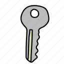 business, buy, door, finance, key icon