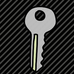 business, buy, door, finance, key icon