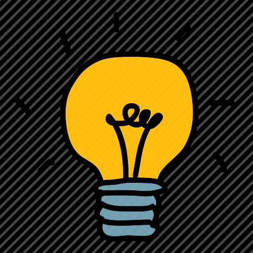 business, finance, idea, lightbulb icon