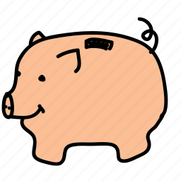 bank, business, finance, piggy, saving icon