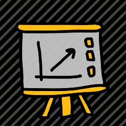 business, chart, finance, profit, statistics icon