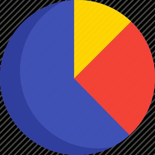 analytics, chart, finance, graph, money, pie, report icon