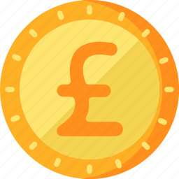 business, finance, pound, sterling icon