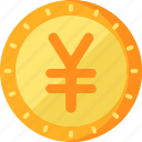 business, finance, yuan icon