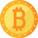 bitcoin, business, finance icon