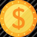 business, dollar, finance icon