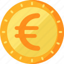 business, euro, finance icon