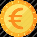 business, euro, finance icon