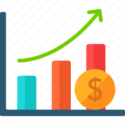bars, business, finance, graph, graphic, profits icon