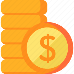 1, business, cash, coin, currency, dollar, money icon