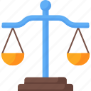 balance, judge, justice, justice scale, law, laws icon
