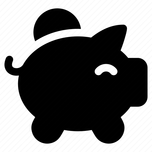 coin, dollar, finance, financial, money, pig, saving icon