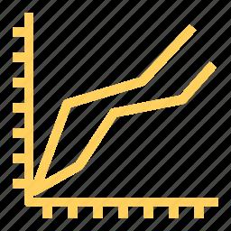 analysis, bar, chart, finance, graph, statistics icon