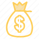 bag, business, money, payment icon